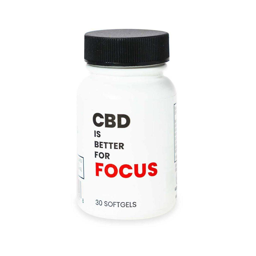 CBD IS BETTER FOR FOCUS Bottle (25mg CBD)