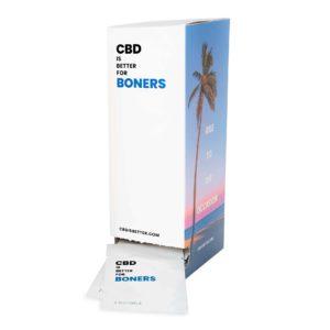 CBD IS BETTER FOR BONERS Dispenser (15mg CBD)