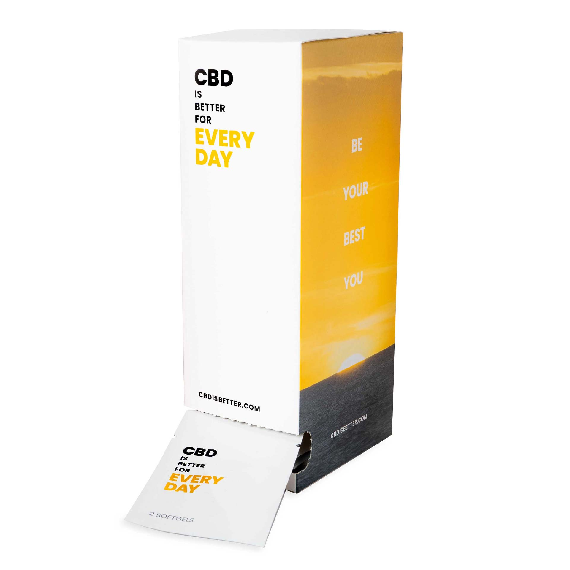 CBD IS BETTER FOR EVERY DAY Dispenser (25mg CBD)