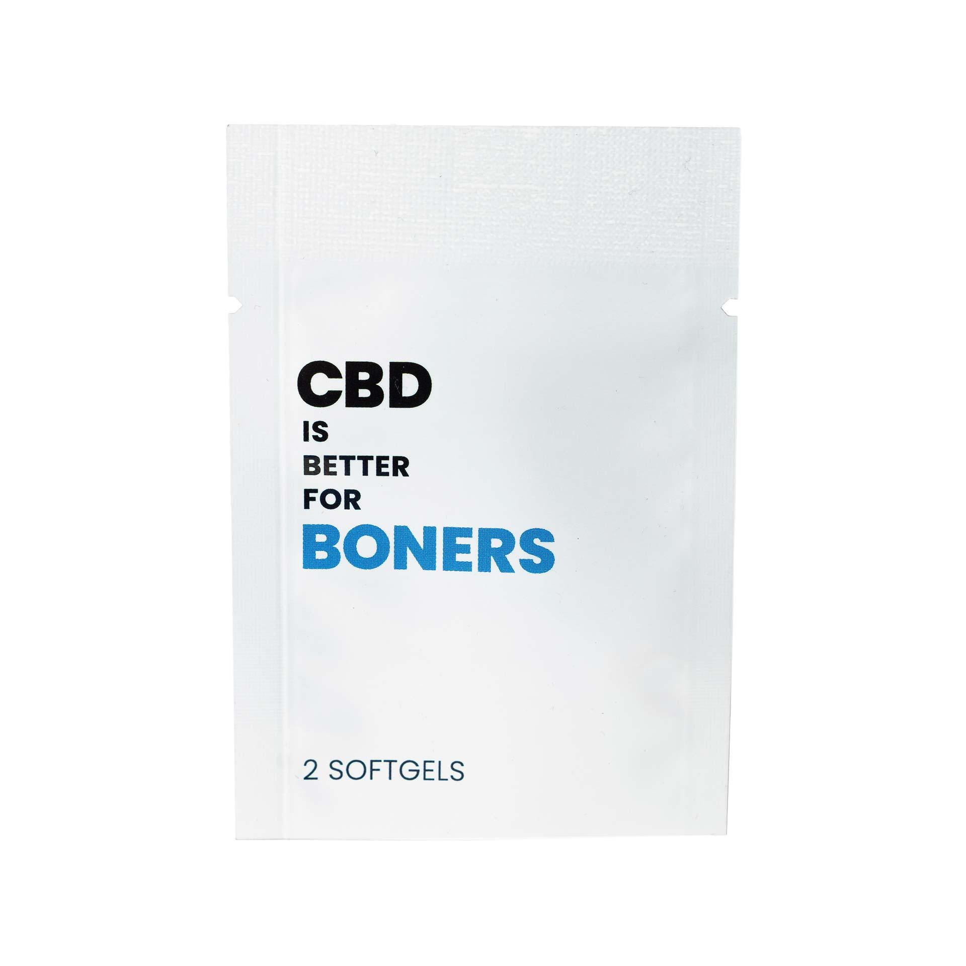 CBD IS BETTER FOR BONERS Packet (15mg CBD)