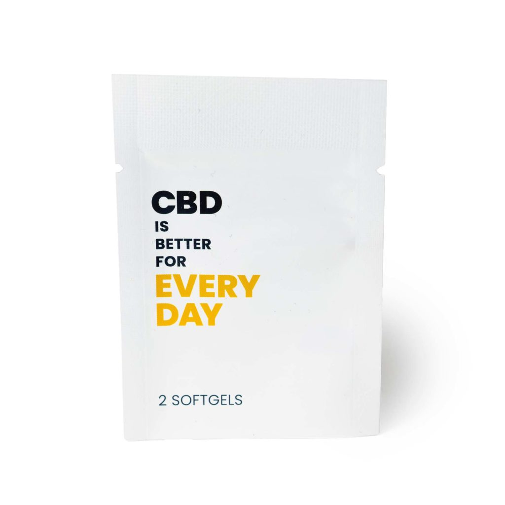 CBD IS BETTER FOR EVERY DAY Packet (25mg CBD)