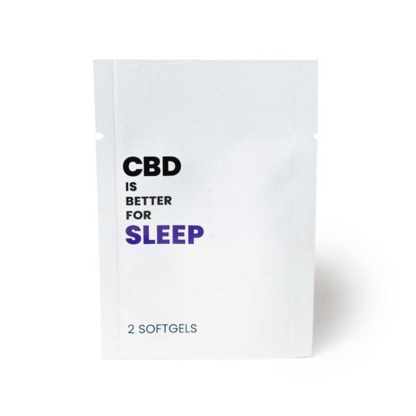 CBD IS BETTER FOR SLEEP Packet (25mg CBD)