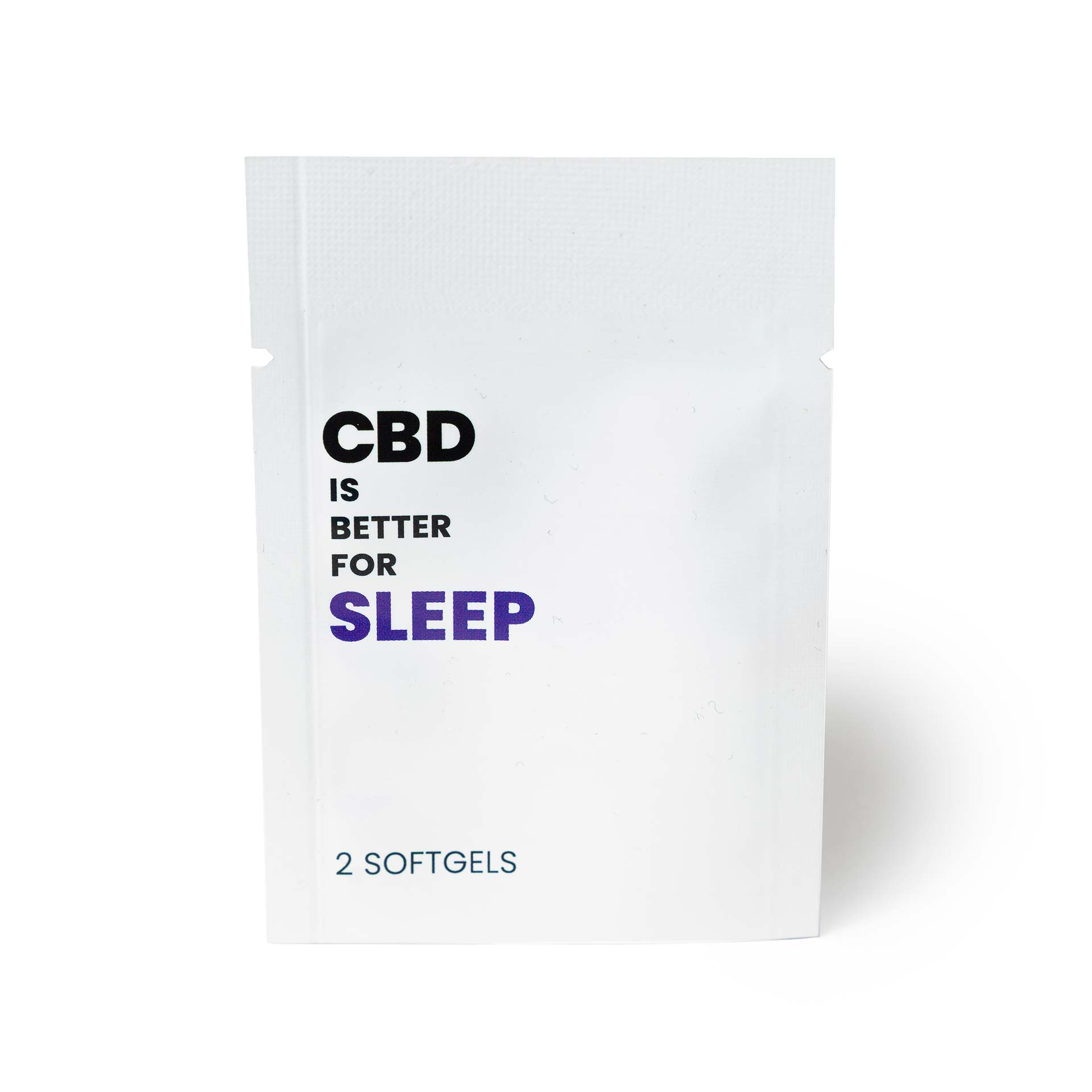 CBD IS BETTER FOR SLEEP Packet (25mg CBD)