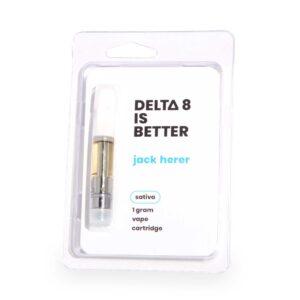 DELTA 8 IS BETTER 1g Vape Cartridge Jack Herer