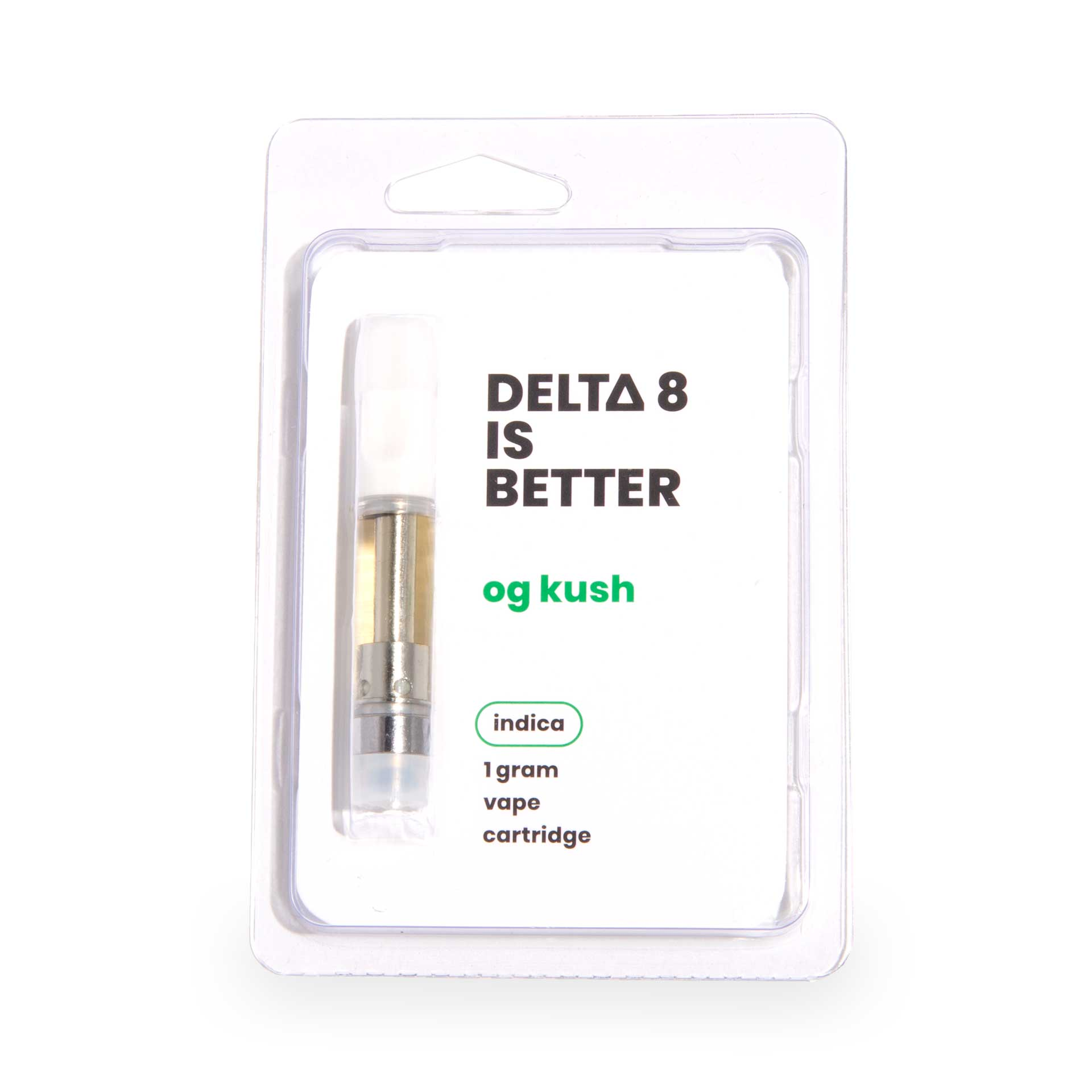 DELTA 8 IS BETTER 1g Vape Cartridge OG Kush