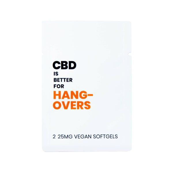 CBD IS BETTER FOR HANGOVERS VEGAN CBD SOFTGELS 2-PILL PACKET