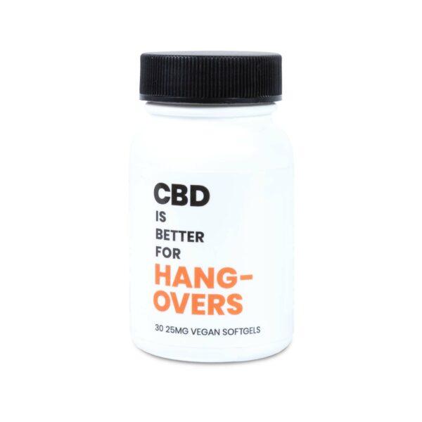 CBD IS BETTER FOR HANGOVERS VEGAN CBD SOFTGELS 2-CT BOTTLE