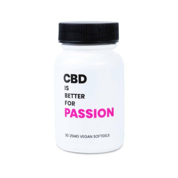 CBD IS BETTER FOR PASSION VEGAN CBD SOFTGELS 2-CT BOTTLE