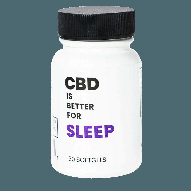 CBD is Better Sleep Melatonin Softgels