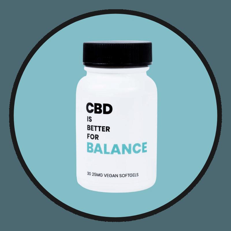 CBD IS BETTER FOR BALANCE