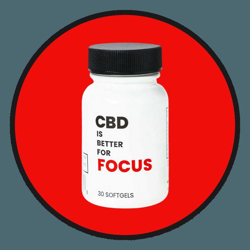 CBD IS BETTER FOR FOCUS
