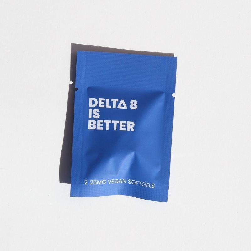 Delta 8 is Better Softgels